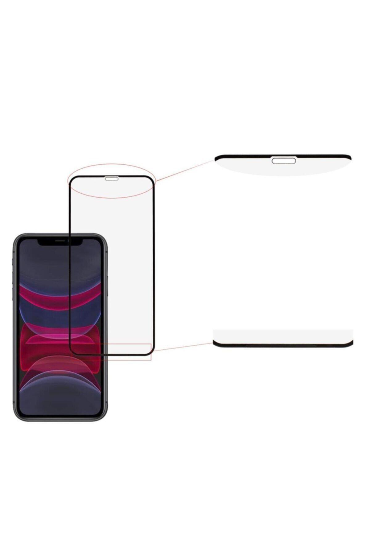 EPRO Siyah Iphone 11 Uyumlu Seramik Nano Ekran Koruyucu Tam Kaplayan Kırılmaz Esnek Cam 2