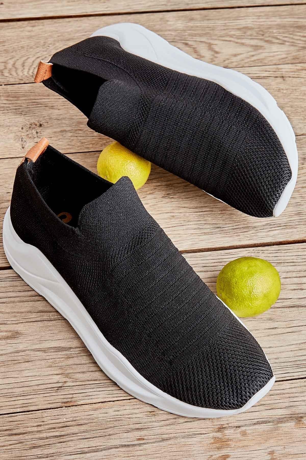 Bambi Siyah Kadın Sneaker K01673050582 1
