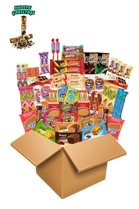 Ülker Hesaplı Paket 61 Parça Bisküvi Kraker Çikolata