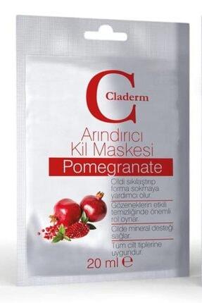 Claderm Kil Maskesi 20 ml Sachet – Pomegranate