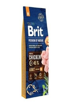 Brit Premium Nature Orta Irk Tavuklu Yetişkin Köpek Maması 15 kg