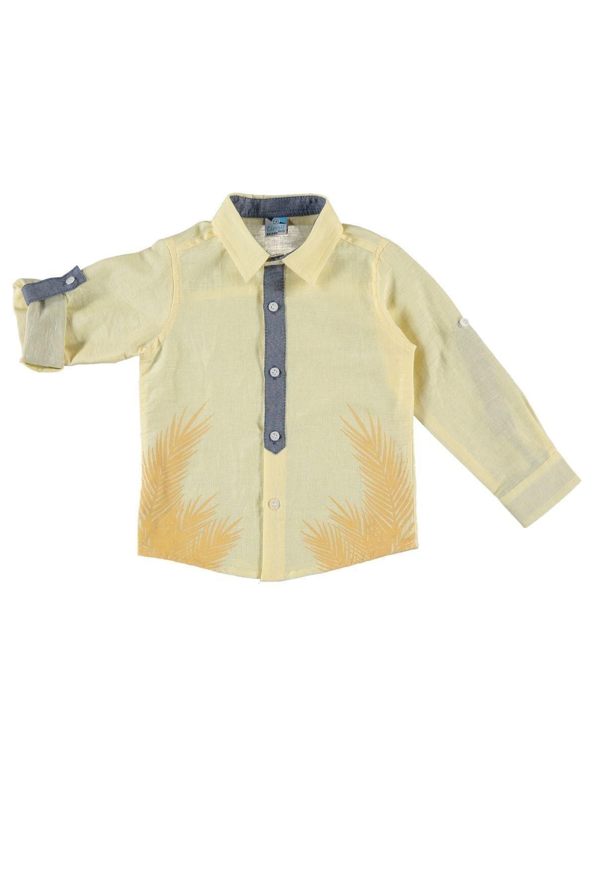 Timo U/k Yaprak Baskılı Gömlek 1