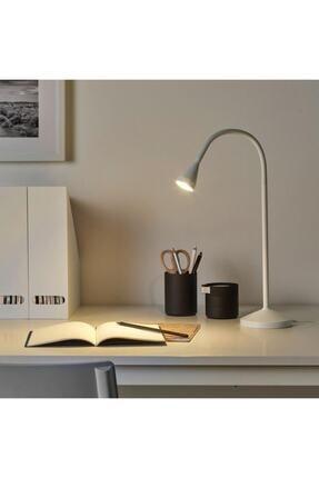 IKEA Navlinge Ayaklı Led Masa Çalışma Lambası Beyaz