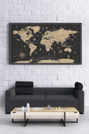 Canvasburada Dev Boyut Dünya Haritası