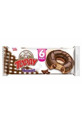 Elvan Today Donut Kakaolu Kek Multipack 50 Gr. 6 Adet (1 Paket)