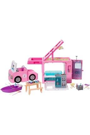 Barbie 'nin Üçü Bir Arada Rüya Karavanı Ghl93