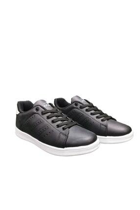 Cheta Siyah Beyaz Günlük Sneakers Spor Ayakkkabı Cht003
