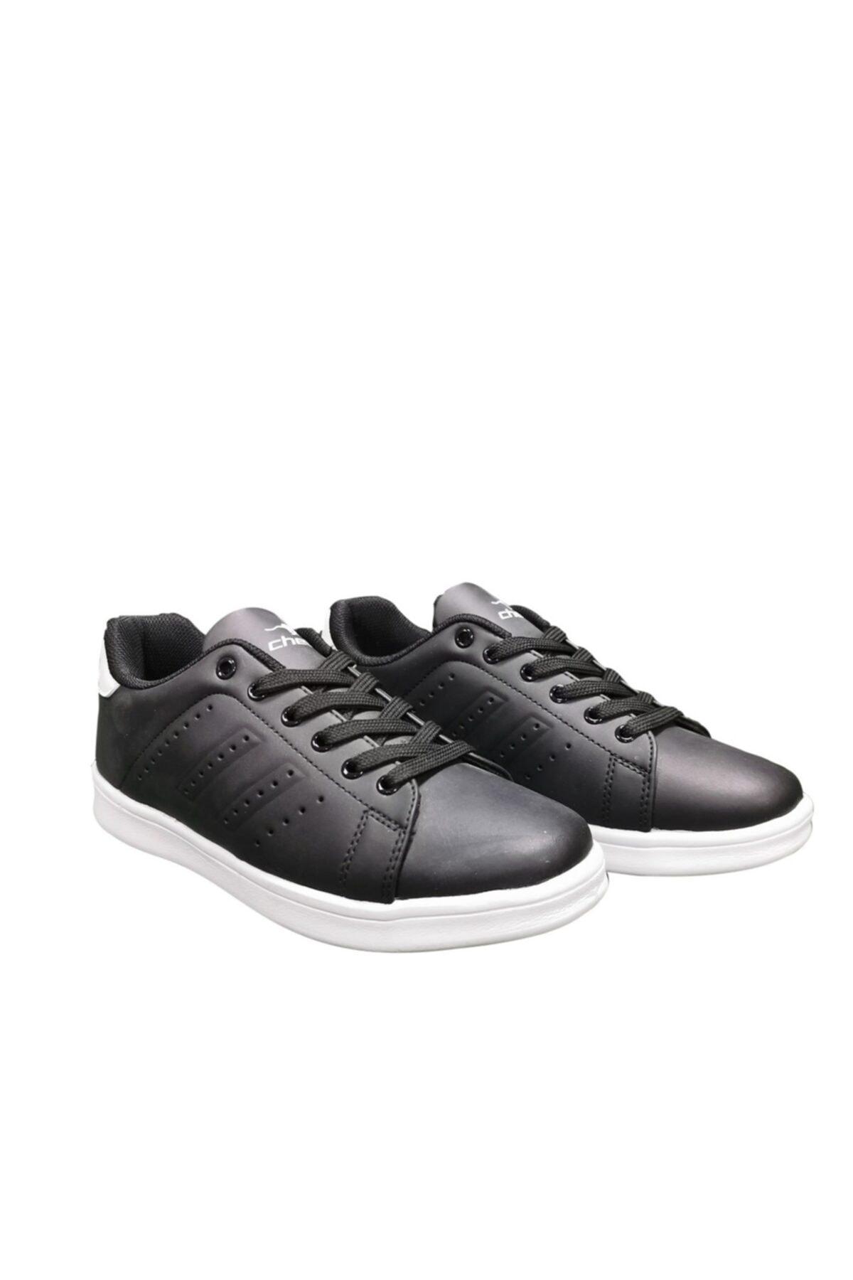 Cheta Siyah Beyaz Günlük Sneakers Spor Ayakkkabı Cht003 1