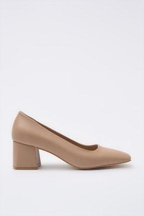 Hotiç Naturel Kadın Klasik Topuklu Ayakkabı 01AYH205360A330