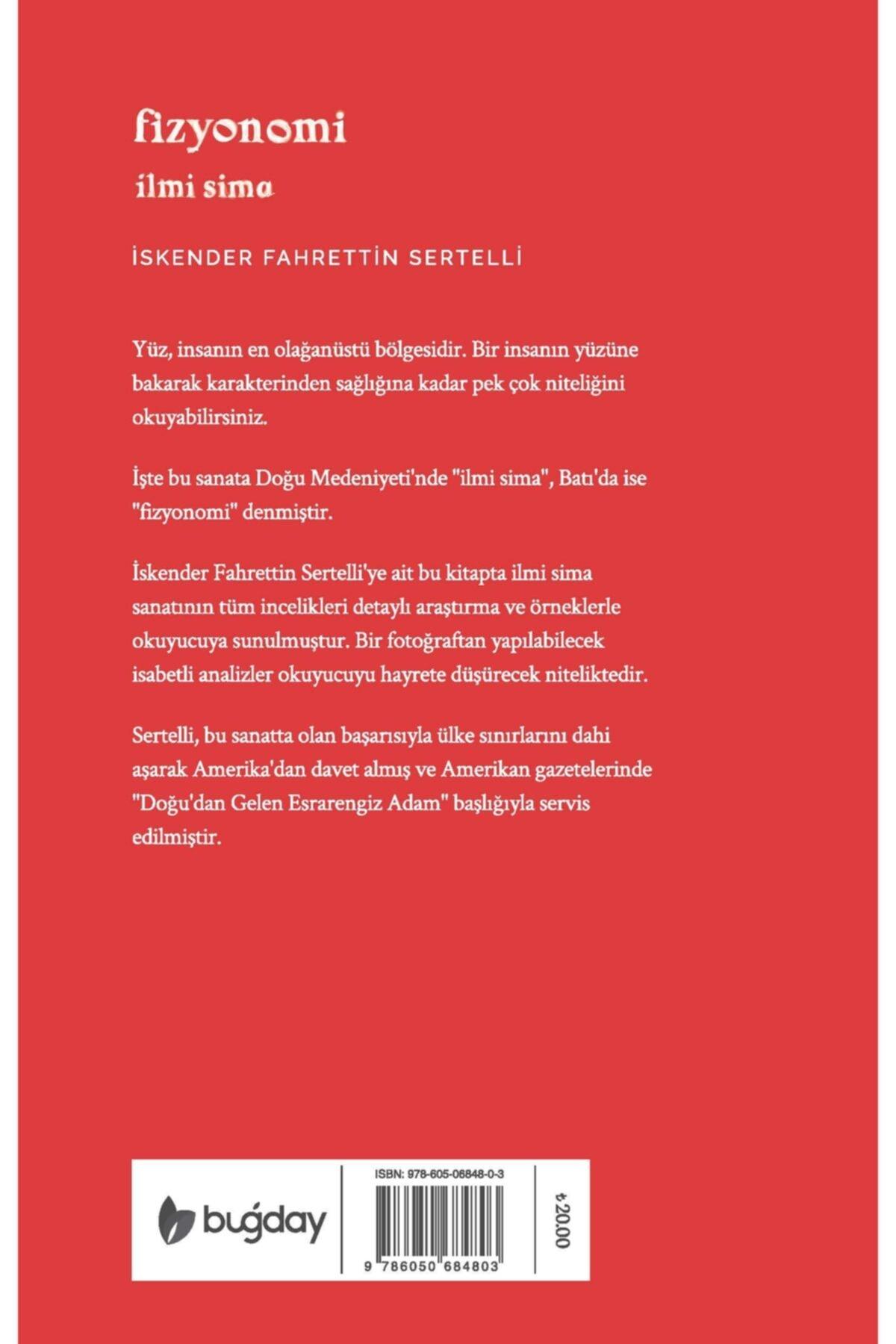 Buğday Kitap Fizyonomi Ilmi Sima - Iskender Fahrettin Sertelli 2