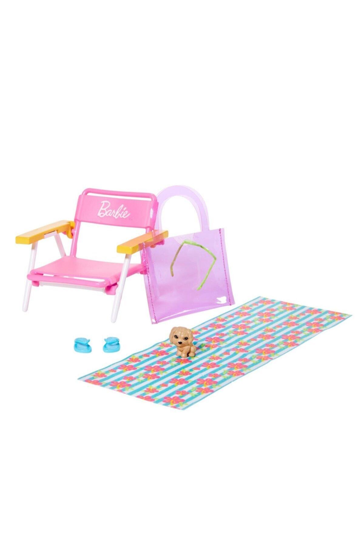 Barbie Ev Aksesuar Paketleri Grg65 -plaj Günü 1