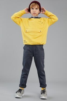 DeFacto Erkek Çocuk Slouchy Dokuma Pantolon