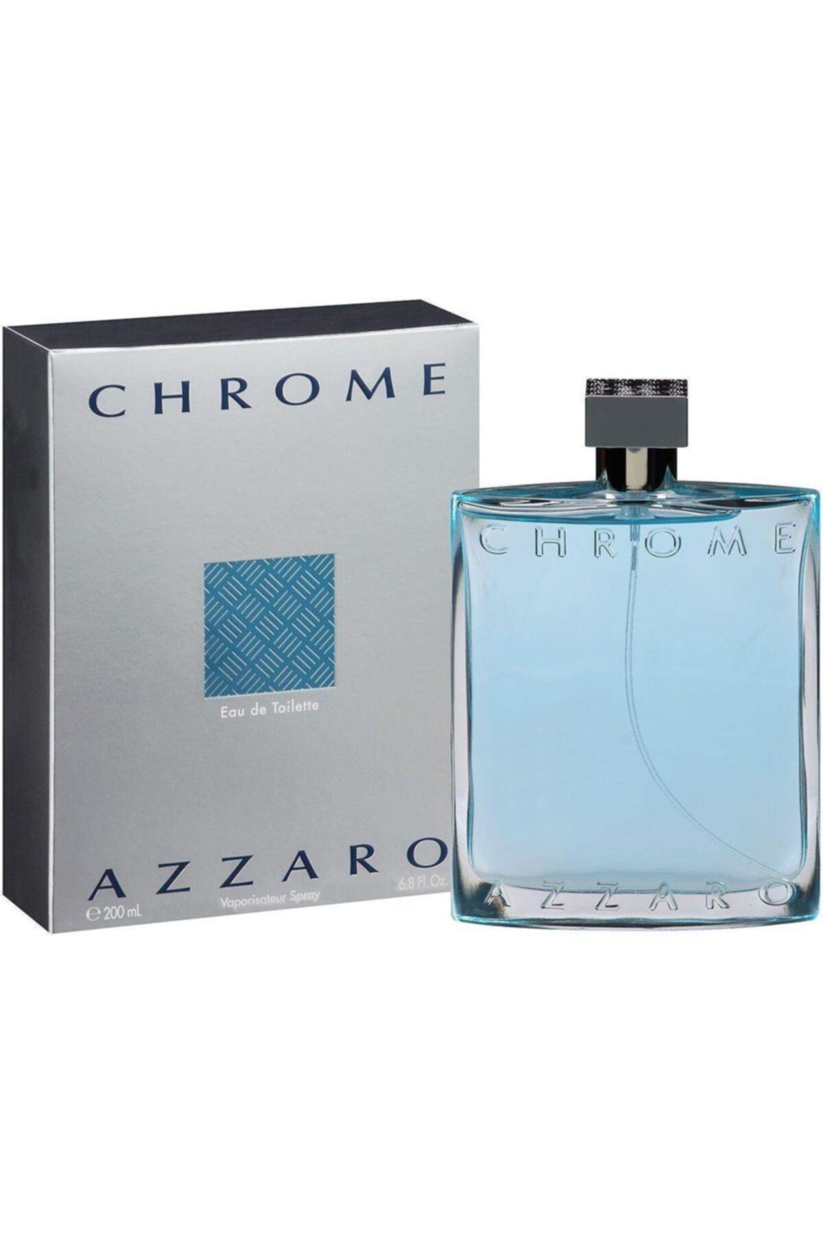 Azzaro Chrome Edt 200 ml Erkek Parfümü 3351500920068 1