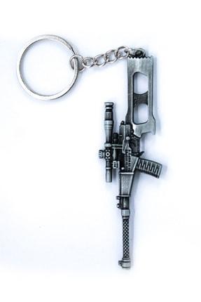 SHAKA Pubg Silah Figürlü Gümüş Anahtarlık Vss