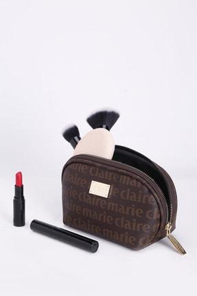Marie Claire Kadın Kahverengi Makyaj Çantası Alice Mc212111010