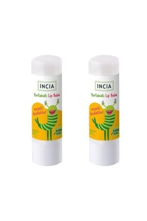 Incia Lip Balm Kids Orange 2 Adet