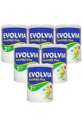 Evolvia 800 Gr 2 Numara Bebek Devam Sütü 6 Lı Paket
