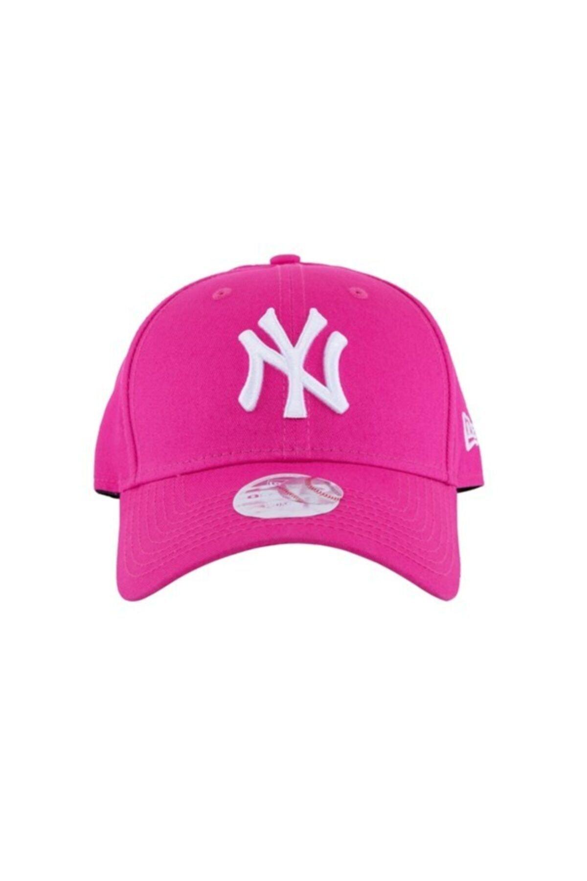 NEW ERA Kadın Şapka - Fashion Essential 9forty New York Yankees Pink/optic White 1