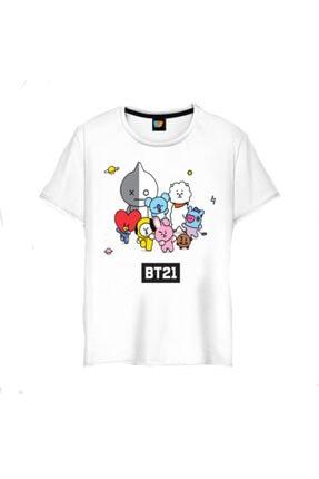 GALASHOP Bts Bt21 K-pop Grup Maskotları Tişörtü Model4538