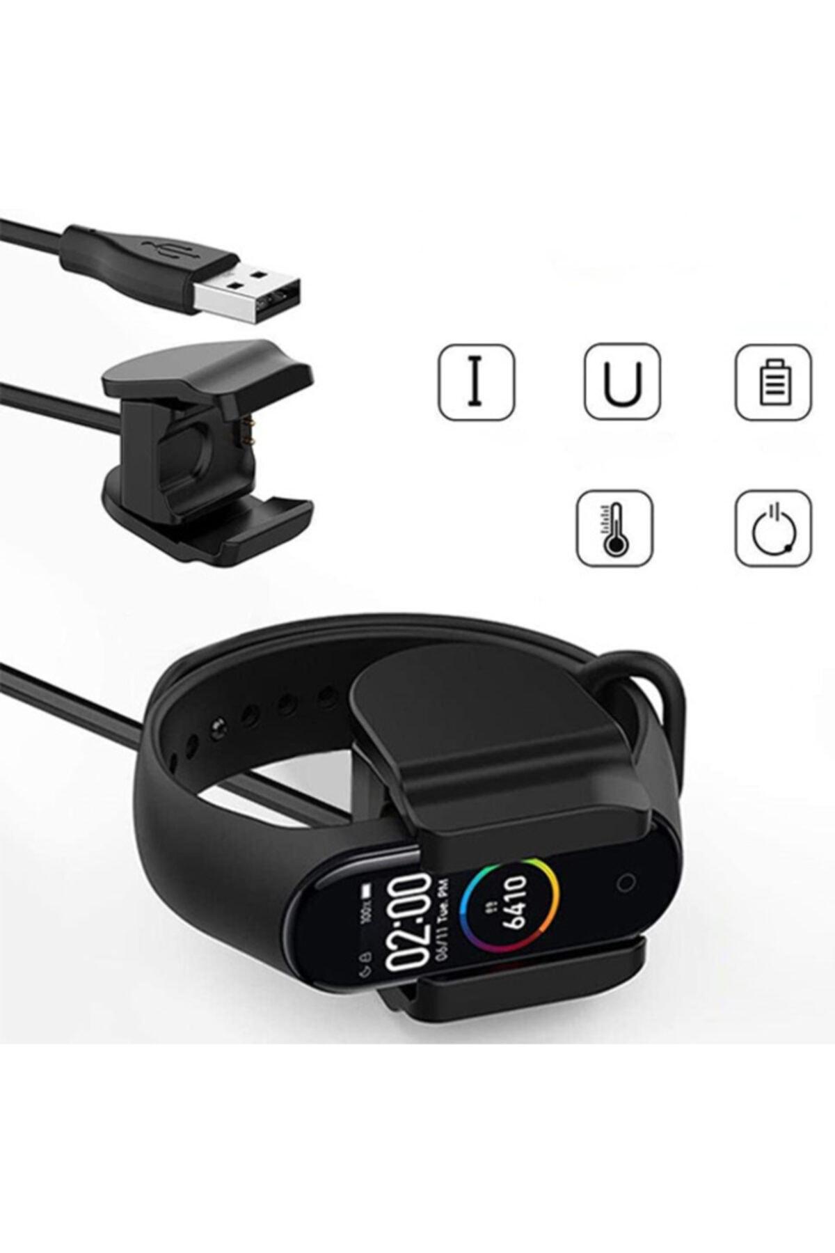 Ally Xiaomi Mi Band 5 Usb Şarj Cihazı Kablosu-mi Band 5 Şarj Aleti 1