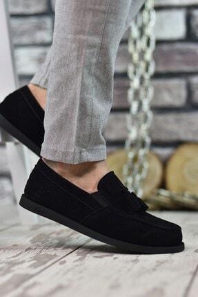 Riccon Siyah Süet Erkek Casual Ayakkabı