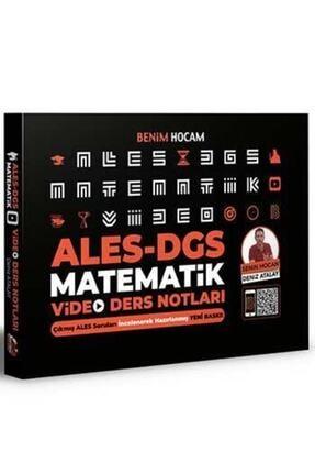 Benim Hocam Yayınevi 2021 Ales Dgs Matematik Video Ders Notları