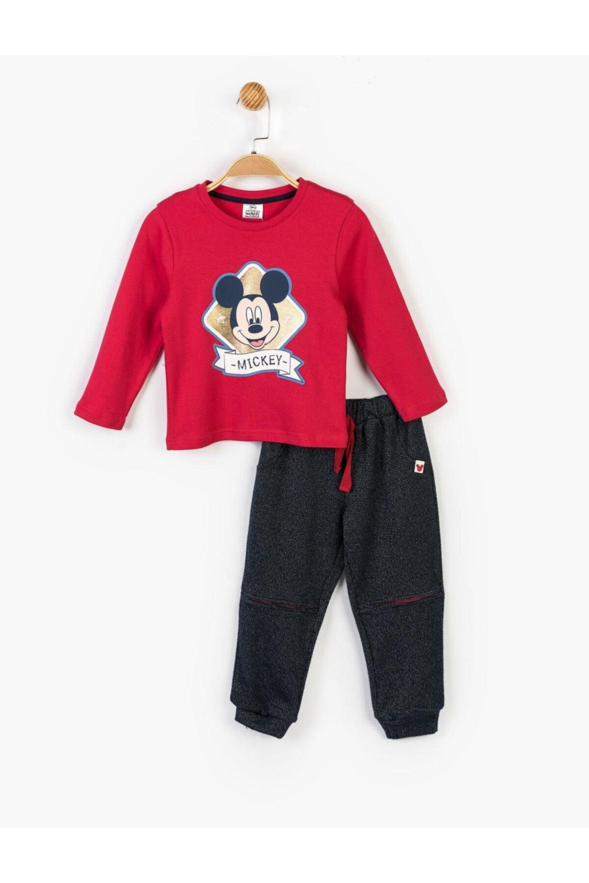 Mickey Mouse Çocuk Lacivert Disney Mickey 3lü Takım 14727 2