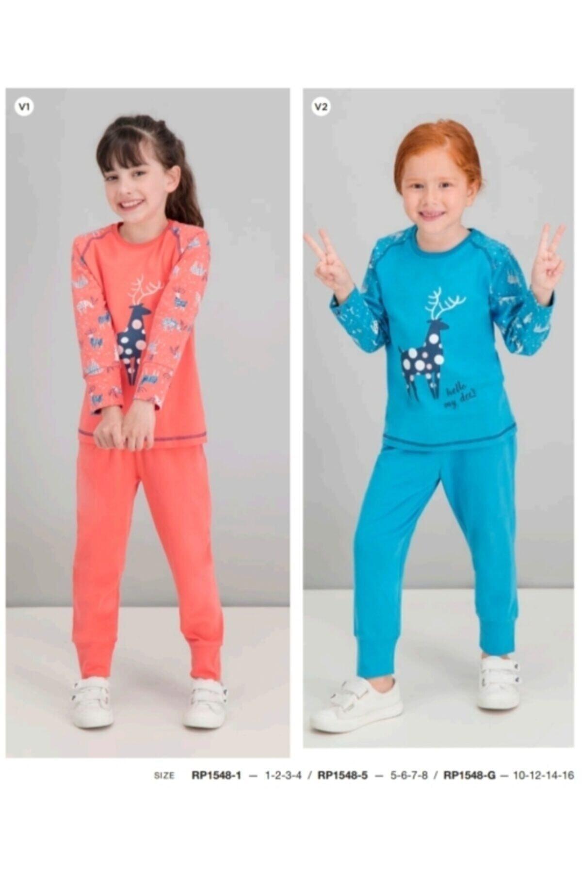 ROLY POLY Kız Çocuk Pijama 1548 1