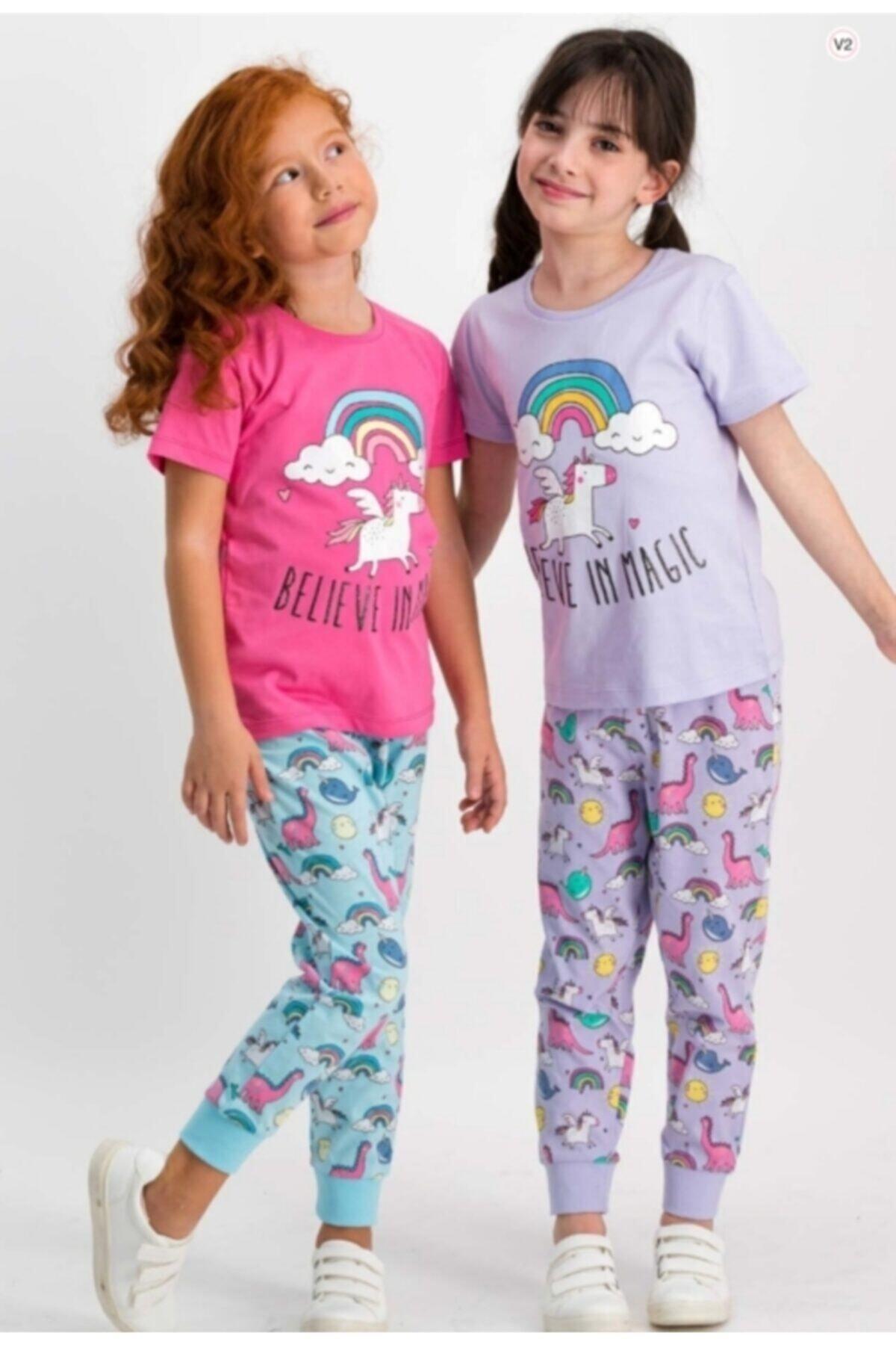 ROLY POLY Kız Çocuk Pijama 1801 1