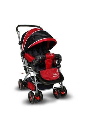 ALDEBA Yeni 8028b Bebek Arabası 8028 B Çift Yönlü Bebek Arabası Kırmızı