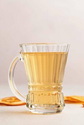 LAV Venüs 6 Parça Kulplu Çay Bardağı