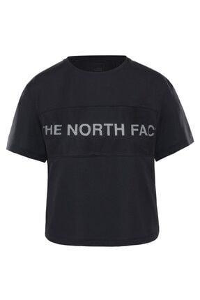 THE NORTH FACE Train N Logo Kadın T-shirt Siyah
