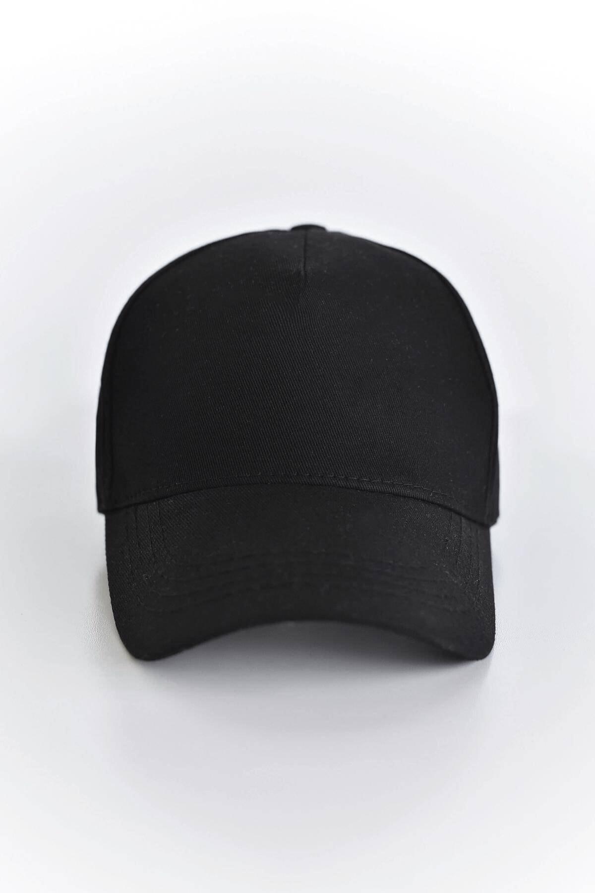 Addax Kadın Siyah Unisex Şapka ŞPK1007 - AKS ADX-0000022027 1