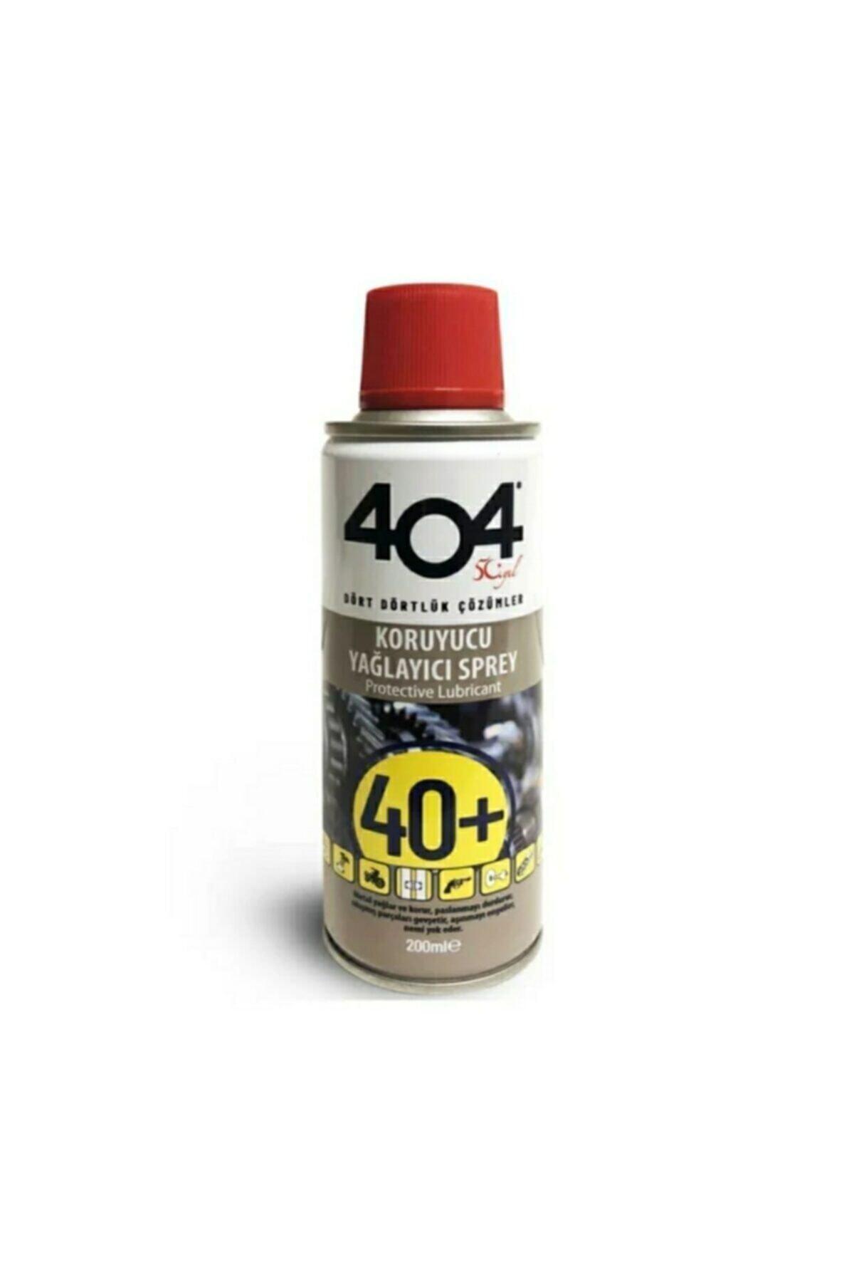 404 Kimya 404 40+ Koruyucu Yağlayıcı Pas Sökücü Sprey 200 Ml 1