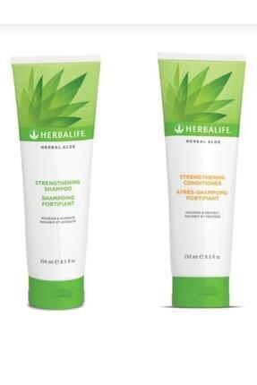 Herbalife Aloe Güçlendirici Şampuan + Saç Kremi 250 ml
