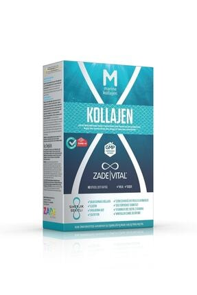 Zade Vital Marine Collagen + Hyaluronic Acid 40 Bitkisel Sert Kapsül