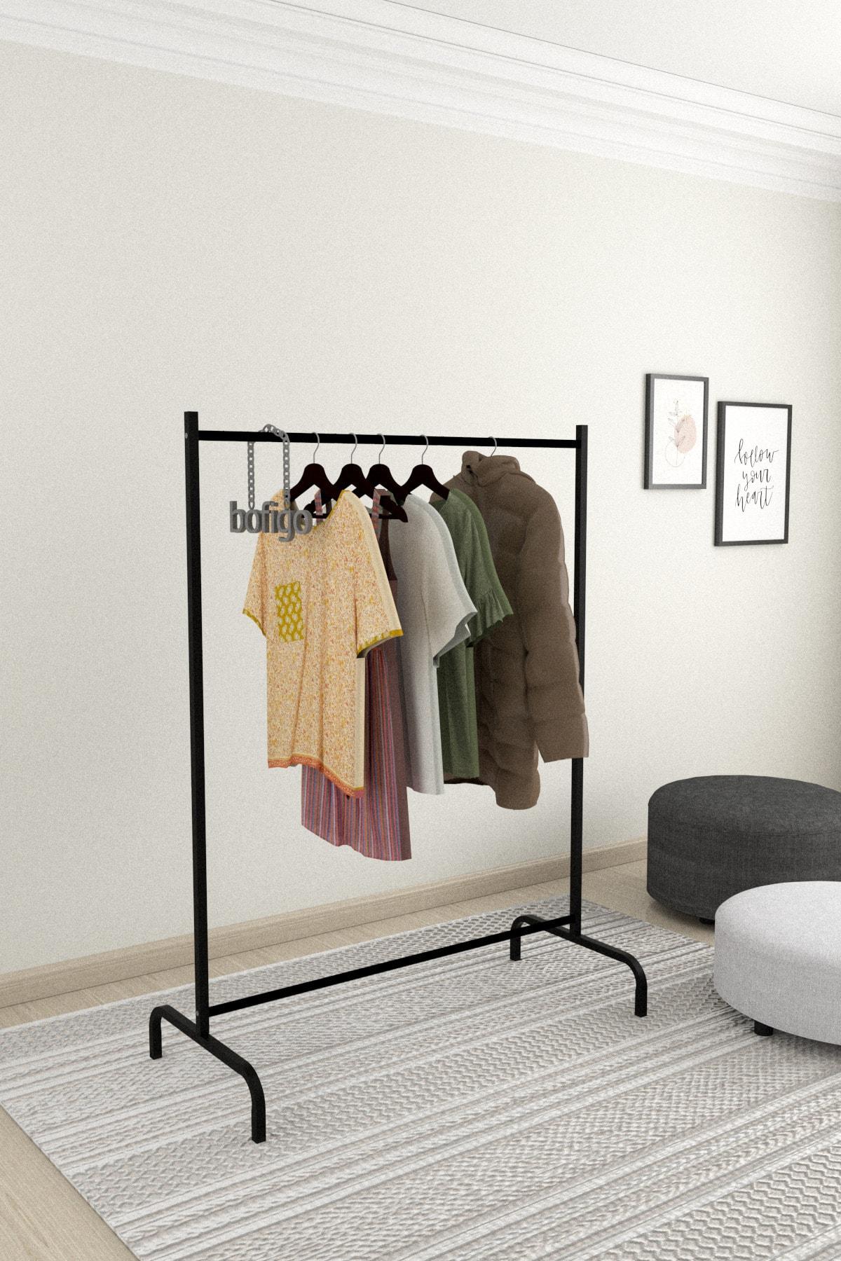 Bofigo Konfeksiyon Askısı Ayaklı Askılık Elbise Askılığı 1