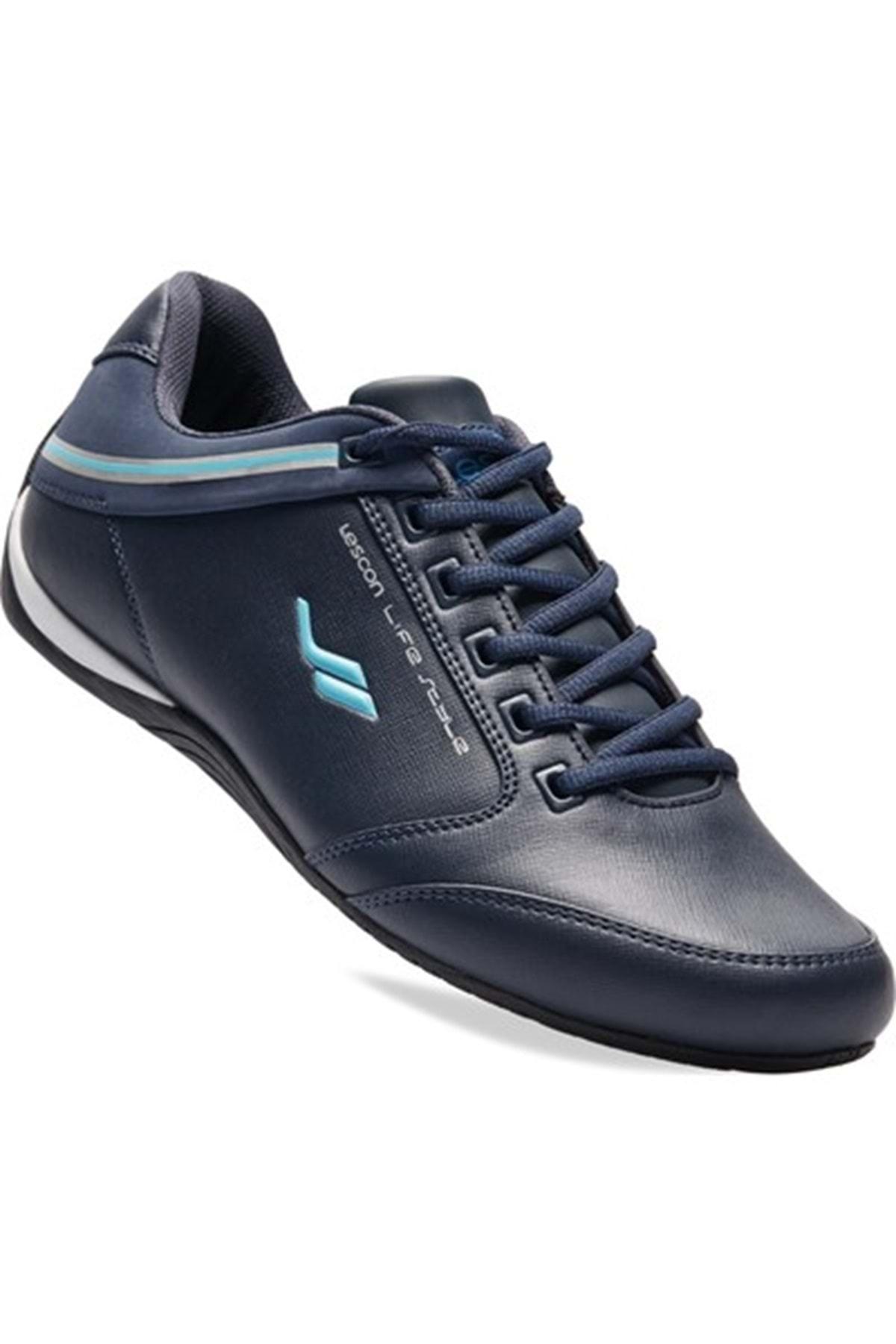 Lescon 6550 Sneakers Günlük Erkek Spor Ayakkabısı - - 6550 - Lacivert - 40 - St01188-6143 1