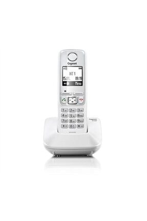 GIGASET A540 Beyaz Telsiz Dect Telefon Handsfree 150 Rehber Işıklı Tuş Takımı