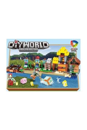 GÇM Tm7212 Lego Seti Minecraft My World