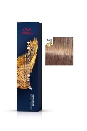 Wella Koleston Perfect Me+ Rich Naturals 8/38 Altın Umbra 60ml