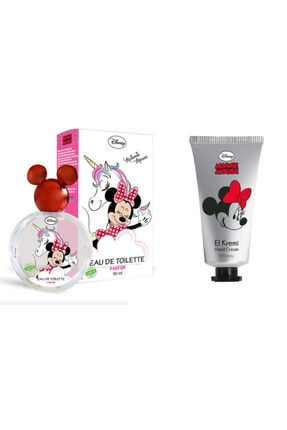 DISNEY Minnie Mouse Parfüm Edt 50ml + Minnie El Kremi