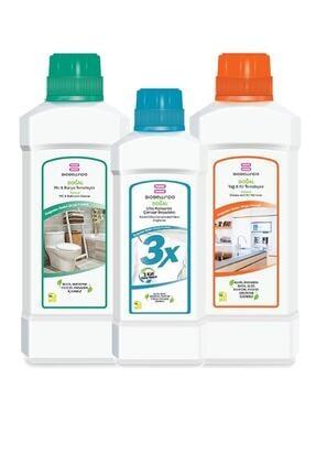 BioBellinda Banyo Beyazlatıcı Yağ Kir Temizleyici Set 3'lü
