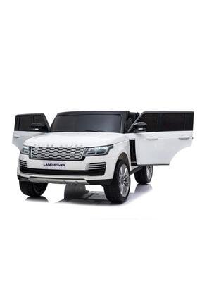 Land Rover Range Rover Tablet Ekranlı 24v Çift Akülü Lisanslı Range Rover Akülü Araba 4 Motorlu Gerçek 4x4 Akülü Jip