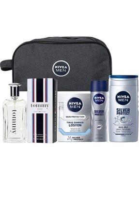 Nivea Edt 100 Ml Erkek Parfümü + Çanta Hediyeli Erkek Bakım Seti