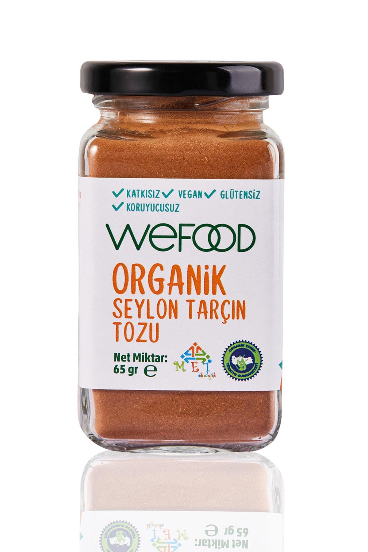 Wefood Organik Tarçın Tozu 65 Gr 1