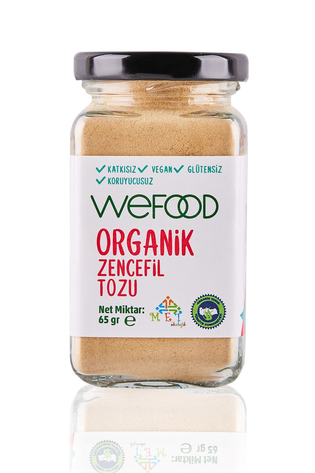 Wefood Organik Zencefil Tozu 65 gr 1