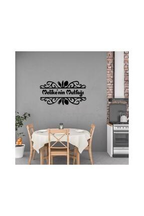 GÜNEŞ LAZER Siyah Mutfak Yazısı Ahşap Dekoratif Duvar Süsü