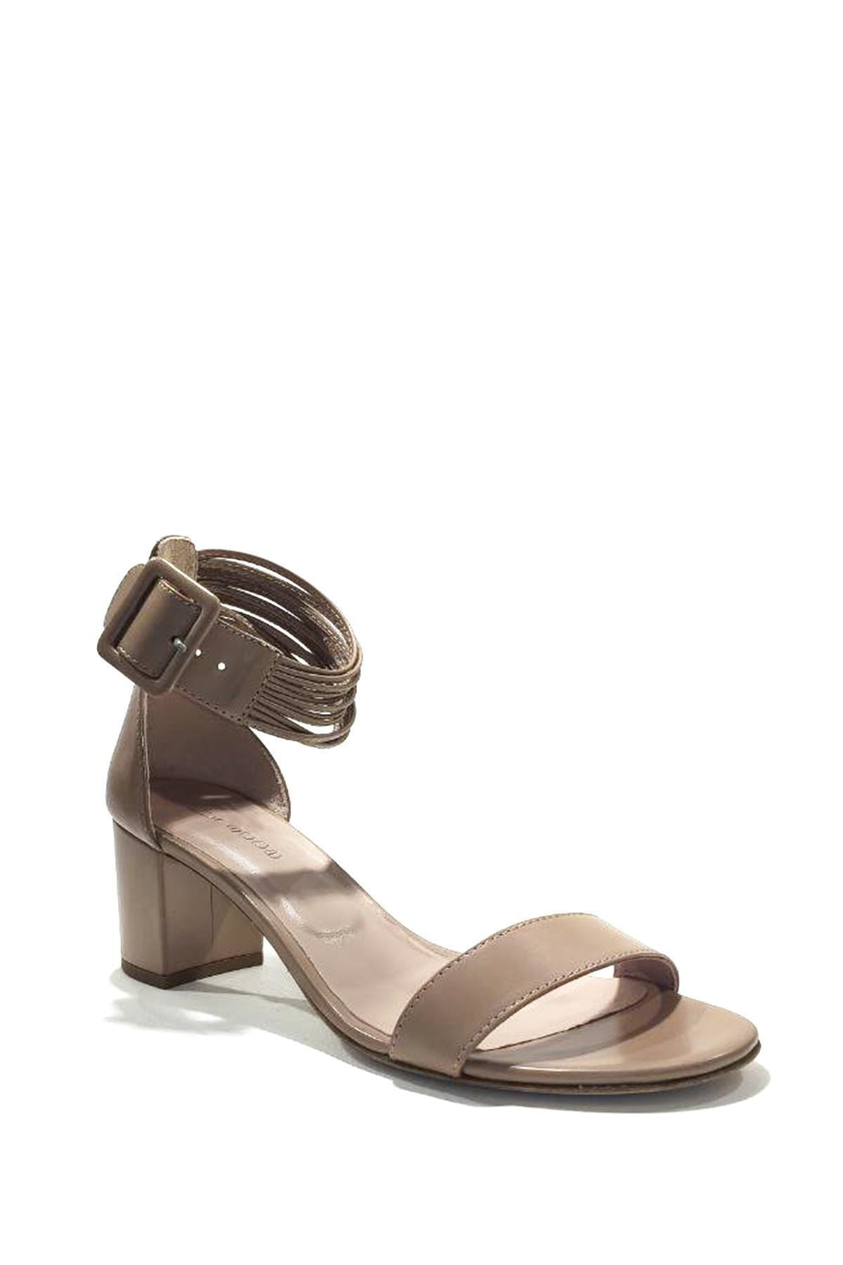 Nursace Hakiki Deri Klasik Topuklu Ayakkabı Nsc19y-a51044 1