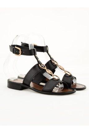 Nursace Hakiki Deri Sandalet Nsc19y-a08286